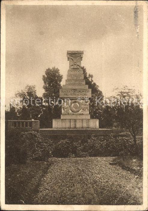 Billy Montigny Denkmal deutschem Mil Friedhof Kat. Billy Montigny