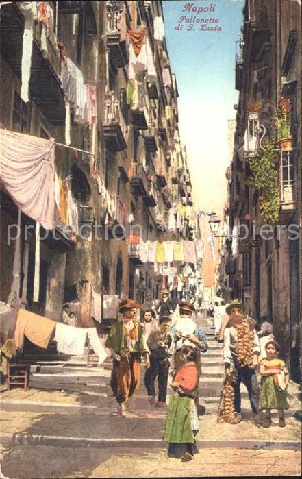 Napoli Neapel Pallonetto S Lucia Kat. Napoli
