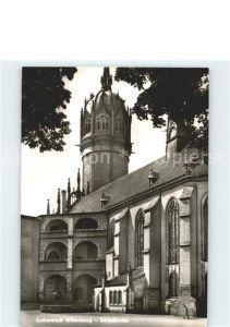 Wittenberg Lutherstadt Schlosskirche Lutherstadt / Wittenberg /Wittenberg LKR