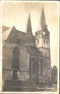 Deventer Bergkerk Kat. Deventer