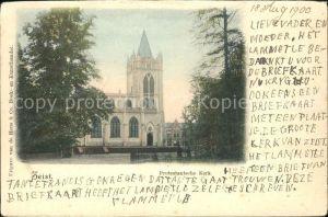 Zeist Protestantsche Kerk Kat. Zeist