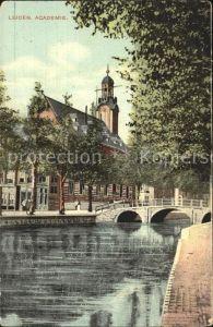 Leiden Academie Kat. Leiden