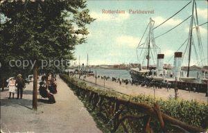 Rotterdam Parkheuvel Dampfer Kat. Rotterdam
