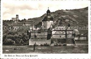 Ruedesheim Rhein Pfalz im Rhein Burg Gutenfels Kat. Ruedesheim am Rhein