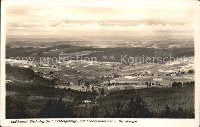 Bischofsgruen mit Froebershammer und Birnstengel Kat. Bischofsgruen