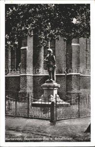 Barneveld Gelderland Standbeeld Jan v. Schaffelaar Kat. Barneveld