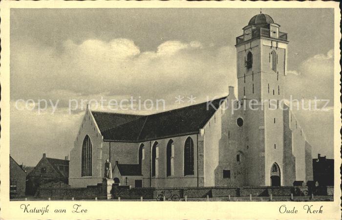 Katwijk Oude Kerk Kat. Katwijk