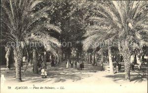 Ajaccio Place des Palmiers Kat. Ajaccio