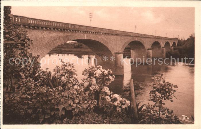 Sainte Foy la Grande Pont du Chemin de Fer Vallee de la Dordogne Kat. Sainte Foy la Grande