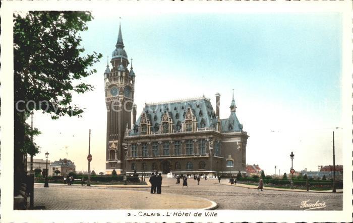 Calais Hotel de Ville Kat. Calais