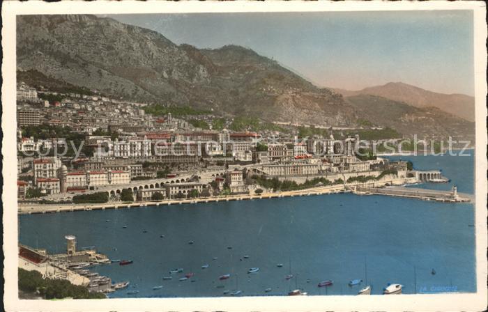 Monte Carlo et le Port Kat. Monte Carlo