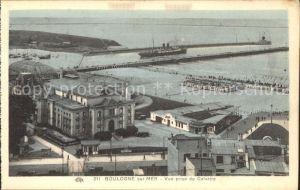 Boulogne sur Mer Vue prise du Calvaire Port Vapeur Kat. Boulogne sur Mer