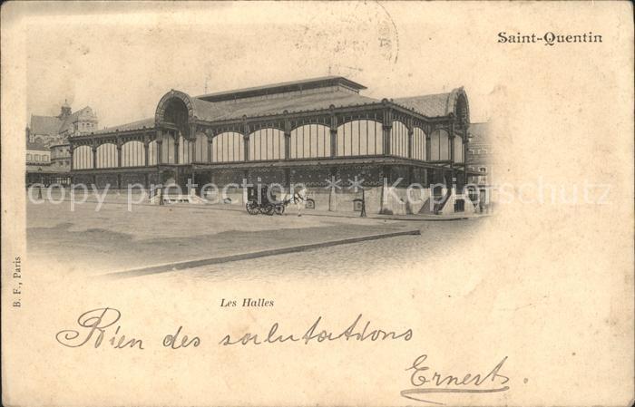 Saint Quentin Les Halles Kat. Saint Quentin