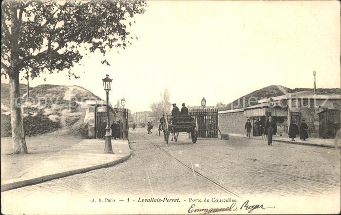 Levallois Perret Porte de Courcelles Kat. Levallois Perret
