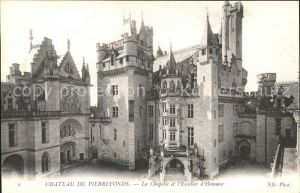 Pierrefonds Oise Chateau Chapelle et l Escalier d Honneur Kat. Pierrefonds