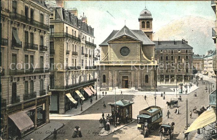 Grenoble Eglise Saint Louis Kat. Grenoble
