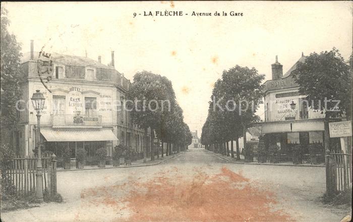 La Fleche Avenue de la Gare Kat. La Fleche