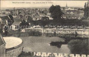 Sully sur Loire Vue generale prise du Chateau Kat. Sully sur Loire