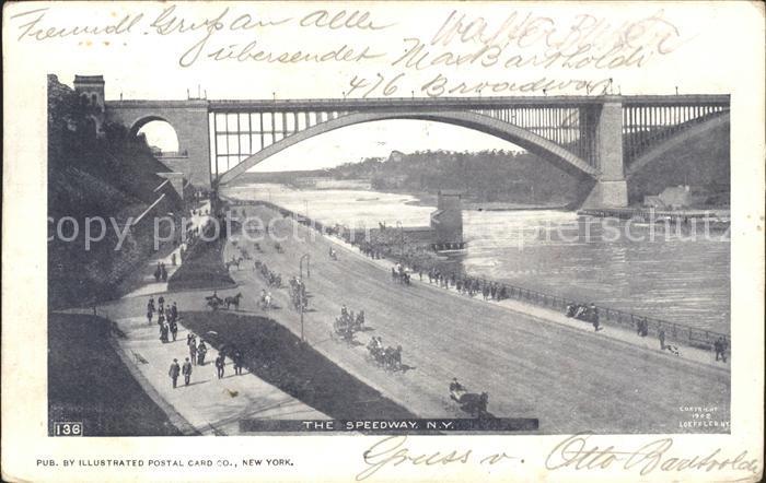 New York City Speedway Bridge / New York /