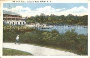 Buffalo New York Boat House Cazenovia Park Kat. Buffalo