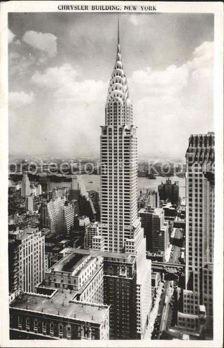 New York City Chrysler Building Skyscraper / New York /