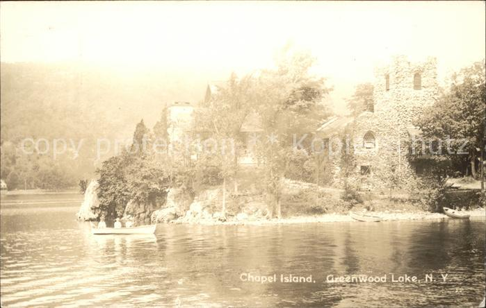 Greenwood Lake Chapel Island Kat. Greenwood Lake