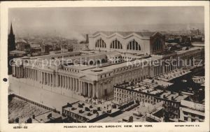 New York City Birdseye view of Pennsylvania Station / New York /