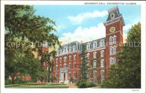 Illinois City University Hall Kat. Illinois City
