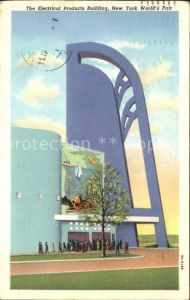 New York City Electrical Products Building World's Fair Illustration / New York /