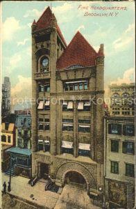 Brooklyn New York Fire Headquarters Kat. Brooklyn