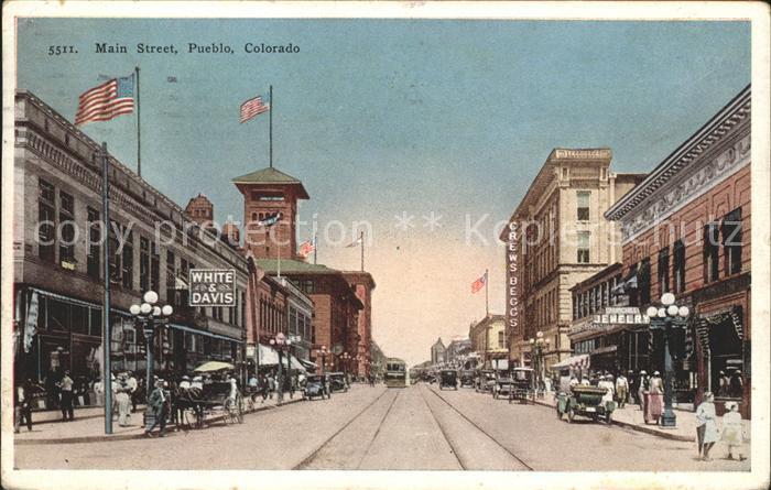 Pueblo Main Street Kat. Pueblo