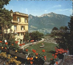 Bad Ragaz Hotel Restaurant Wartenstein Kat. Bad Ragaz