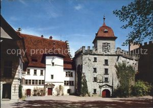 Lenzburg Schloss Lenzburg Landvogtei und Ostbastion Kat. Lenzburg