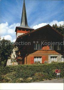 Gstaad Eglise catholique Kat. Gstaad