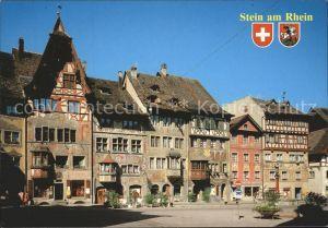 Stein Rhein Rathausplatz Tanner zur Burg Kat. Stein Rhein