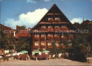 Merlischachen Hotel Swiss Chalet Bar Restaurant Kat. Merlischachen