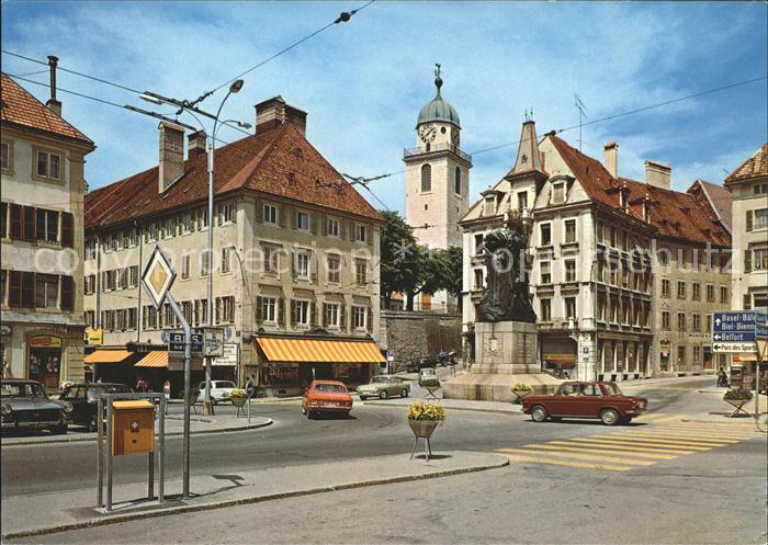 La Chaux de Fonds Place de l Hotel de Ville Kat. La Chaux de Fonds