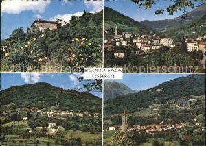 Bigorio Sala Tesserete Il Ticino pittoresco Kat. Bigorio