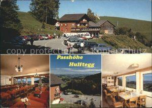 Muehlrueti Gasthaus Hulftegg Panoramasaal Parkplatz Kat. Muehlrueti