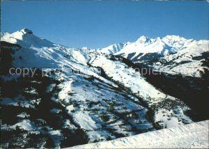 Piz Mundaun Skigebiet mit Luven Kat. Piz Mundaun
