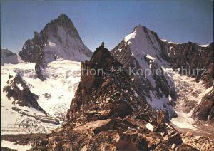 Dent Blanche VS Gipfelpanorama Kat. Dent Blanche