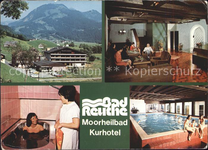 Reuthe Vorarlberg Kuhotel Bad Reuthe Kat Reuthe