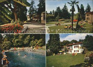 Lugano TI Jugendferienheim Lu Crocifisso Pool Kat. Lugano