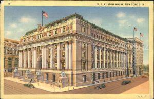 New York City US Custom House / New York /