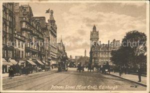 Edinburgh Princes Street East End Tram Kat. Edinburgh