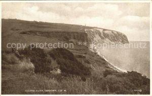 Sandown Isle of Wight Culver Cliff Valentine s Post Card Kat. Isle of Wight