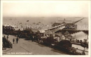 Southend-on-Sea Pier Promenade / Southend-on-Sea /Southend-on-Sea