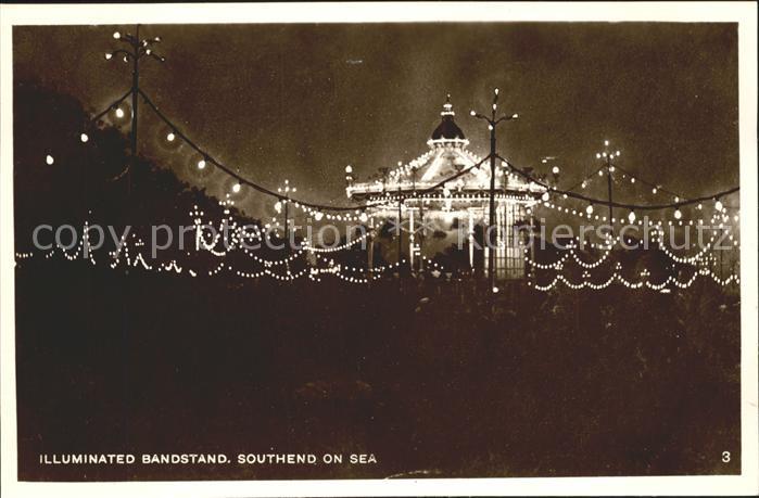Southend-on-Sea Illuminated Bandstand / Southend-on-Sea /Southend-on-Sea
