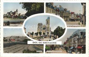Dol de Bretagne Cathedrale Saint Samson Hotel de Ville Grande Rue Cours des Charretiers Kat. Dol de Bretagne