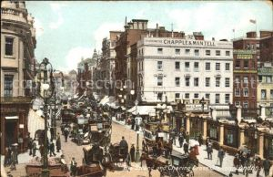 London Strand and Charing Cross Station Traffic Kat. City of London